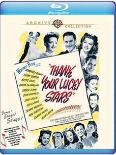 Thank Your Lucky Stars - Blu-Ray (Warner Archive Region A) Release Date: Available Now (Amazon U.S.)