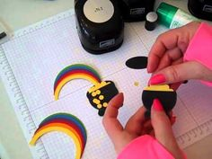 ▶ Pot of Gold Punch Art with Rainbow Stampin' UP! - YouTube
