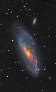 thedemon-hauntedworld: M106 Messier 106 is a... | Aimless In Space