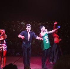 Maks,Karina,Sharna and Val in Boston .