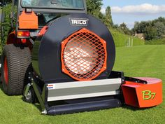 Trilo blower from The Grass Group Golf Green, Lawn Equipment, Artificial Turf, Landscaping Company, Grass, Golf Courses, Things To Come, Landscape, Tractor