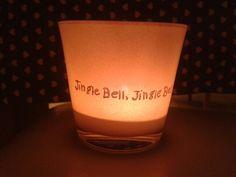 """Waxinelichtje """"jingle bell"""""""