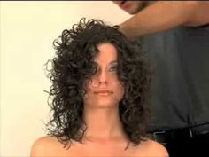 Curly Hair Cosmetology Continuing Education Course, diffusing curly hair.