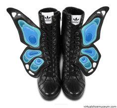 Butterfly shoes Jeremy Scott