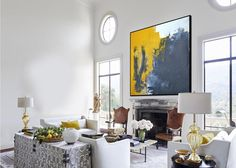 Very Large Abstract Paintings On Canvas,Yellow Abstract Canvas Art Oil Painting,Blue Abstract Art Painting,Modern Living Room Abstract Art Blue Abstract Painting, Abstract Canvas Art, Yellow Painting, Acrylic Painting Canvas, Abstract Paintings, Large Canvas Wall Art, Large Artwork, Canvas Canvas, Extra Large Wall Art