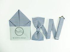 Men's Wedding Set Bow Tie & Pocket Handkerchief by by BartekDesign