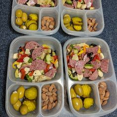 Keto lunches packed for the week! packed in - Keto lunches packed for the week! Keto Desserts, Keto Snacks, Healthy Snacks, Healthy Eating, Carb Free Snacks, Clean Eating, Keto Lunch Ideas, Lunch Snacks, Box Lunches