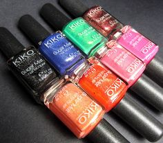 Kiko Sugar Mat Nail Polish Giveaway!