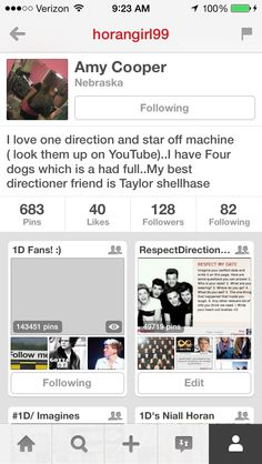 Everybody go follow!!! She has awesome boards!! She deserves more followers, so please go follow her!!