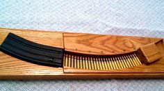 guns ammo This is a couple of videos showing you how to build this pretty awesome wooden magazine speed loader. This actually seems pretty simple to build. Shooting Bench, Shooting Range, Shooting Sports, Shooting Gear, Reloading Ammo, Reloading Bench Plans, Reloading Equipment, Gun Rooms, Ar Build