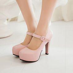 Women's Shoes  Stiletto Heel Heels/Platform Pumps/Heels Office & Career/Dress Blue/Pink/Beige – AUD $ 54.33