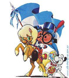 Día de la Bandera Argentina 20 de Junio HISTORIA ARGENTINA historia Canciones Patrias Ferrat, Folklore, Tango, Bowser, Aviation, Disney Characters, Fictional Characters, Gowns, Cartoon