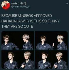 Xiumin approves of Baekhyun #EXO