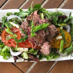 Thai Inspired Flank Salad recipe on Food52