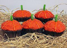Pumpkin Patch Cupcakes - use any cupcake recipe/mix