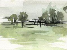 paisaje_acuarela_verdes