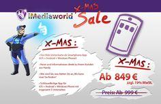 Xmas Sale  #xmas #sale #web #app #film #animation  http://www.imediaworld.de/