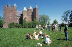 A 13th century castle in Stayokay Heemskerk #Holland.