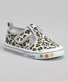 Look what I found on #zulily! Gray Leopard Sneaker #zulilyfinds