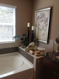 Decorating Around a Bathtub | home projects to do | Pinterest ... on bathtub design, bathtub quotes, decorating ideas, bathtub remodel ideas, bathtub cake ideas, bathtub accessories ideas, bathtub candles ideas, bathtub wall decor, bathtub bedroom ideas, bathtub organization ideas, bathtub paint ideas, bathtub lighting ideas, bathtub bathroom ideas, bathtub wall ideas, bathtub gift ideas, bathtub flowers,