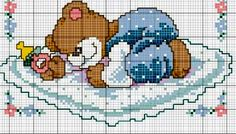 Small Cross Stitch, Cross Stitch Baby, Cross Stitch Charts, Cross Stitch Embroidery, Wool Baby Blanket, Craft Patterns, Pixel Art, Knit Crochet, Creations