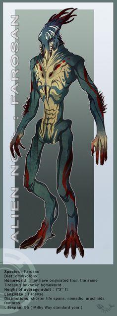 Alien No.4 : Farosan by ~Zarnala on deviantART