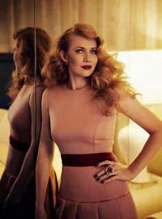 Mireille Enos, pronounced Mee-ray