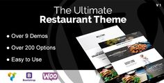 DB Restaurant WordPress Theme . Looking for the most customizable Restaurant Theme for WordPress? Then you are right here! This theme is crafted for every type of restaurant – and with every we mean EVERY (see Demos)!
