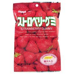Kasugai Strawberry Gummy 4.76 Oz - AsianFoodGrocer.com   AsianFoodGrocer.com, Shirataki Noodles, Miso Soup
