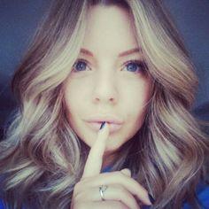 Shhh, my hair ... Thank Cami for the highlights...