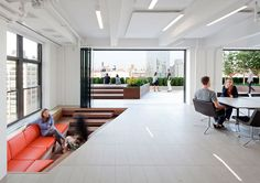 Horizon Media offices by a+i architecture, New York