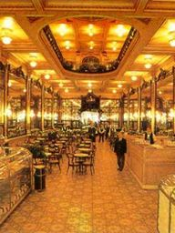 Colombo.Famous for sweets, offers meals that circulate between Portuguese and Spanish cuisines. A return to the past.Historic and artistic heritage of Rio de Janeiro, the Confeitaria Colombo is a symbol of the belle époque in the life of the city.