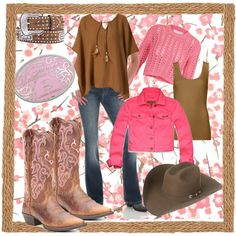 """""""Not Quite the Farmer's Daughter"""" by kimzarad1 on Polyvore"""