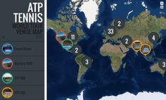 Commission on Map Design Atp Tennis, Tennis World, Women's World Cup, Map Design, Sports News, Tours, Cartography