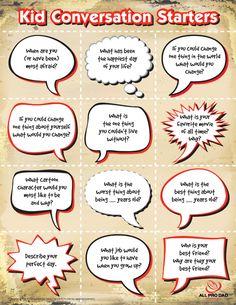 good conversation ideas