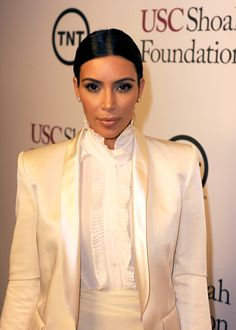 Kim Kardashian Kardashian has appeared in films such as Disaster Movie Deep in the Valley and Temptation: Confessions of a Marriage Counselor Kim Kardashian Latest, Robert Kardashian, Disaster Movie, Fortune Favors The Bold, Cuts And Bruises, Balmain Blazer, Production Company, Sylvester Stallone, 20th Anniversary