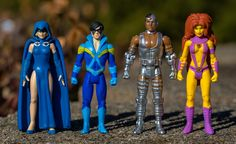 Teen Titans   High Score Studios   Atari Warlord   Flickr Dc Comics Action Figures, Custom Action Figures, George Perez, Dc Comics Art, Sideshow Collectibles, Nightmare On Elm Street, Young Justice, Old Toys, Gi Joe