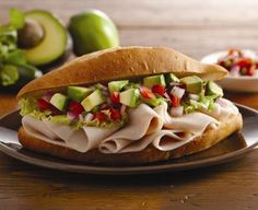 Mexican Turkey Torta. It's the perfect addition to any picnic. #summer #recipe #light