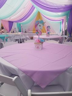 ideas unicorn birthday party theme little pony Diy Unicorn Birthday Party, Jojo Siwa Birthday, Little Pony Birthday Party, First Birthday Parties, Birthday Party Decorations, Party Centerpieces, 5th Birthday, Birthday Ideas, Unicorn Centerpiece