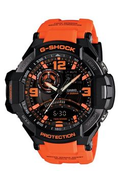 G-Shock 'Aviation' Ana-Digi Watch, 52mm available at #Nordstrom