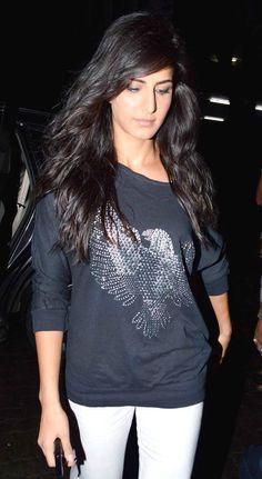 Katrina Kaif at Arjun Kapoor's birthday bash #Bollywood #Fashion