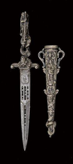 French Ceremonial Dagger circa 1860's – 1870's.