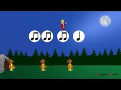 In the hall of the mountain king rhythm practice Music Lesson Plans, Music Lessons, 2nd Grade Music, Halloween Music, Music Activities, Movement Activities, School Videos, Primary Music, Music Composers