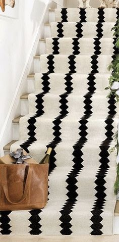 Stair Runners, Animal Print Rug, Stairs, Rugs, Home Decor, Farmhouse Rugs, Stairway, Decoration Home, Room Decor