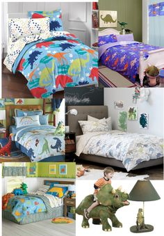 """Dinosaur themed bedroom"" by loveyabunches ❤ liked on Polyvore"