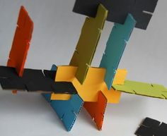 Stackers - 10 Clever Ways to Upcycle Cardboard ... [ more at http://lifestyle.allwomenstalk.com ] Here is another way to upcycle cardboard that is sure to make your kids happy. The great thing about this stacker idea is that it can encourage your kids to use their imagination. And I'm sure you will also have fun cutting and painting the cardboard pieces.Tutorial... #Lifestyle #Glue #Pieces #Wooden #Cardboard #Boxes