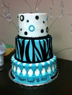 Sweet 16 cake.