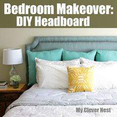Clever Nest: DIY Nailhead Headboard