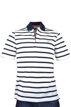men s paul and shark polo shirt navy stripe by PAUL  amp  SHARK £140.00 Paul 20ac718745