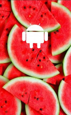 An Android Watermelon wallpaper!